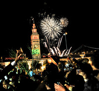 New Year's Eve 2013: Fireworks on the Embarcadero @ Sens - DonovanSF.com